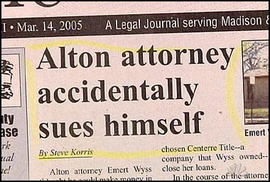 Interesting And Funny Newspaper Clippings (16) 15