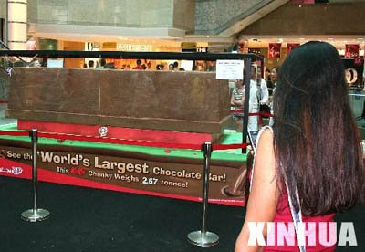 world's largest chocolate bar (2) 1