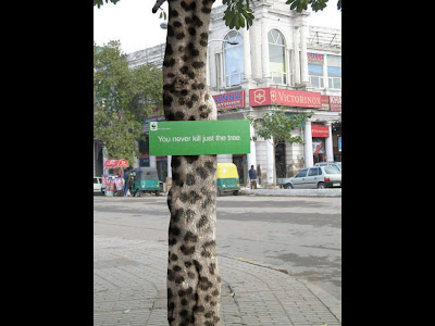 Creative and Clever Tree Advertisements (5) 1