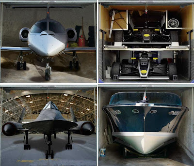 Incredible Hidden Car Garage Designs