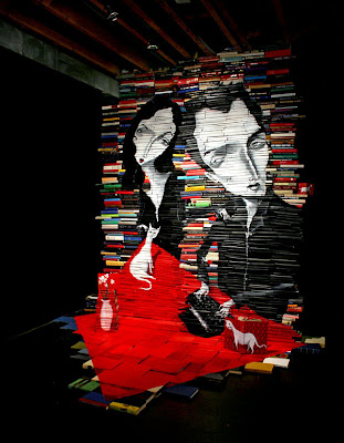 Incredible Book Paintings (11) 5