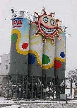 Artistic Painting On Industrial Structures (20) 12