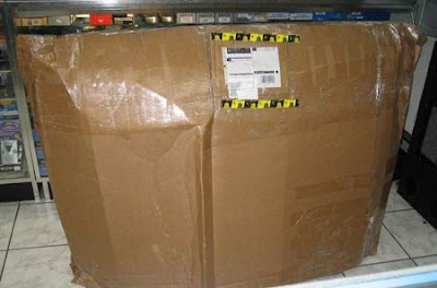 how not to ship a TV (2) 1