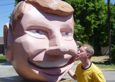 Ken Jenning's Big Styrofoam Head