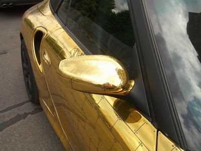 Porsche Covered In Gold (5) 4