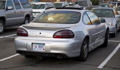Hilarious License Plates (20) 17