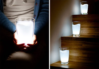 Milk Glass Night Light