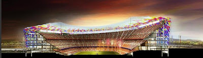The Football Stadium For FC Barcelona (3) 3
