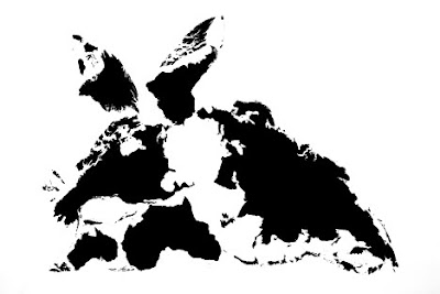 Twelve Animals Created From World Map (12) 4