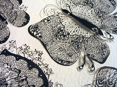 Paper Cutting, Folding, Sculptures, Illustrations And Origami (18)  9
