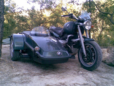 BMW R850 R Sidecar Dedome