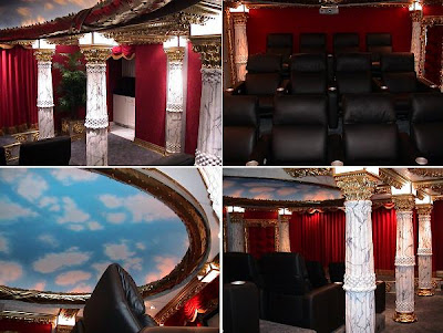 36 Creative and Cool Home Theater Designs (70) 54