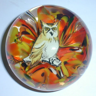 Zimmerman Owl Paper Weights