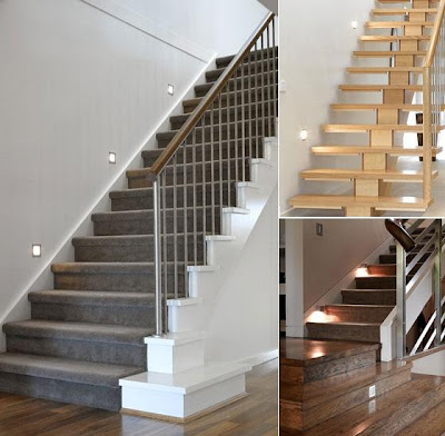 20 Creative And Modern Staircase Lighting Designs