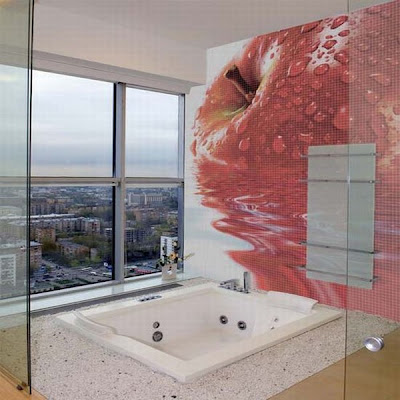 Modern and Cool Bathroom and Kitchen Tiles (30) 8