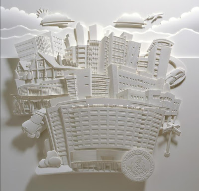 Paper Sculptures by Jeff Nishinaka (11) 9