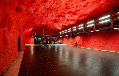 Artistic and Creative Swedish Subway System (21) 6