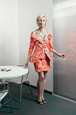 Creative and Cool Officewear made from Office Supply (6) 2