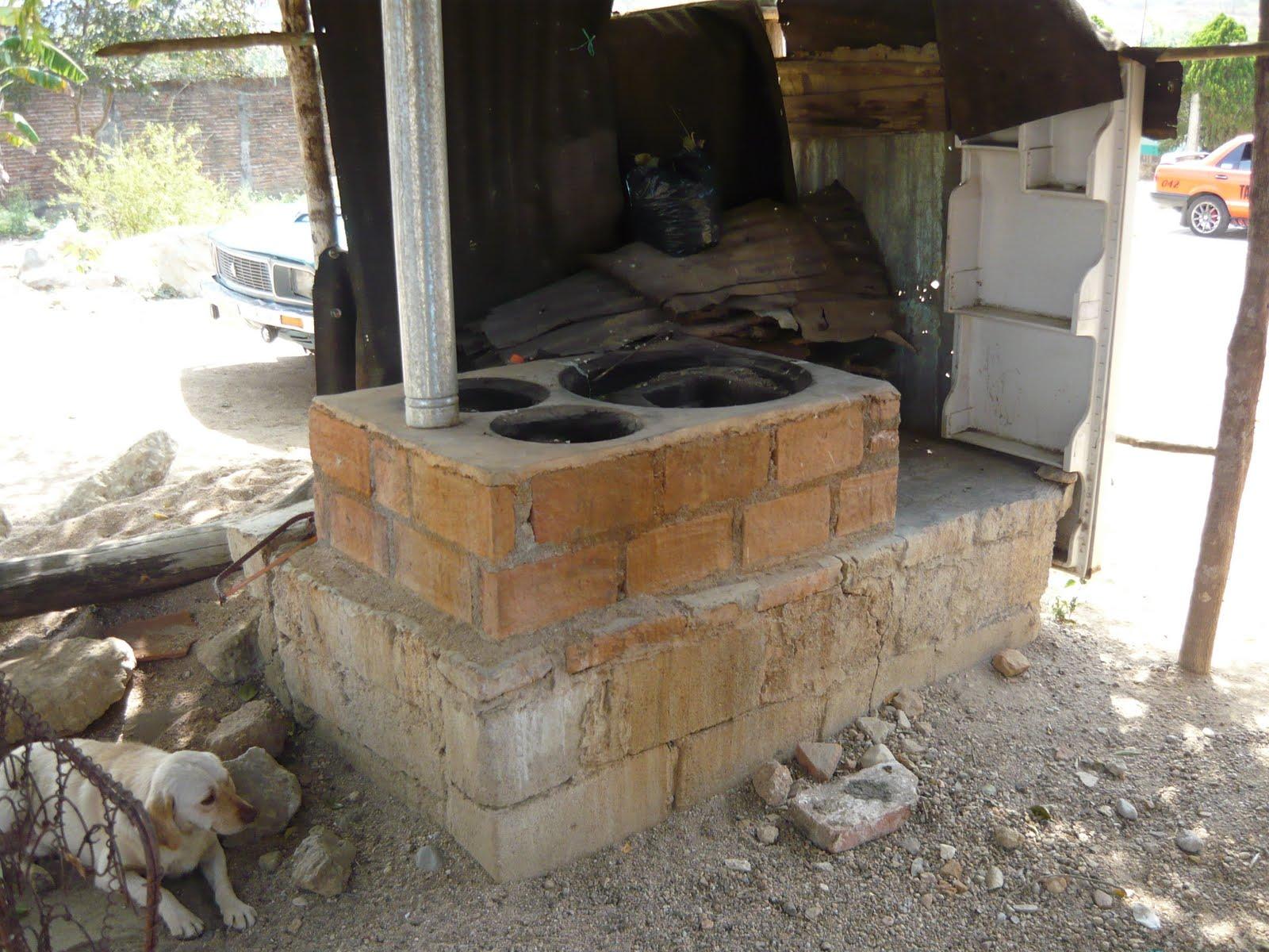 Formacion ambiental investigacion de campo en la colonia - Como hacer una cocina de lena ...