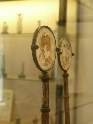 ¿Un retrato?, ¿Una ventana de Leonardo?, en todo caso un objeto muy interesante…
