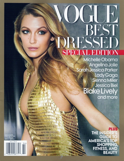 vogue best dressed special edition 2010 blake lively