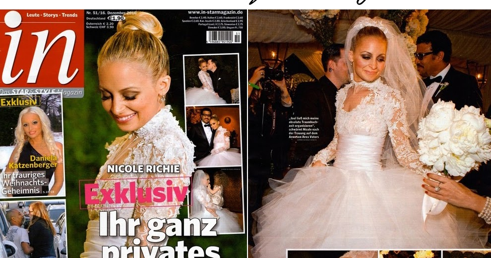 Nicole Richie\'s wedding dress...more pictures