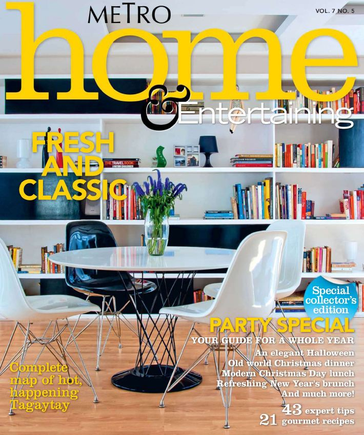 Best Movie 2017 Interior Design Magazine Metro Home Entertaining November 2010