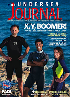 PADI's Undersea Journal second quarter 2009 cover