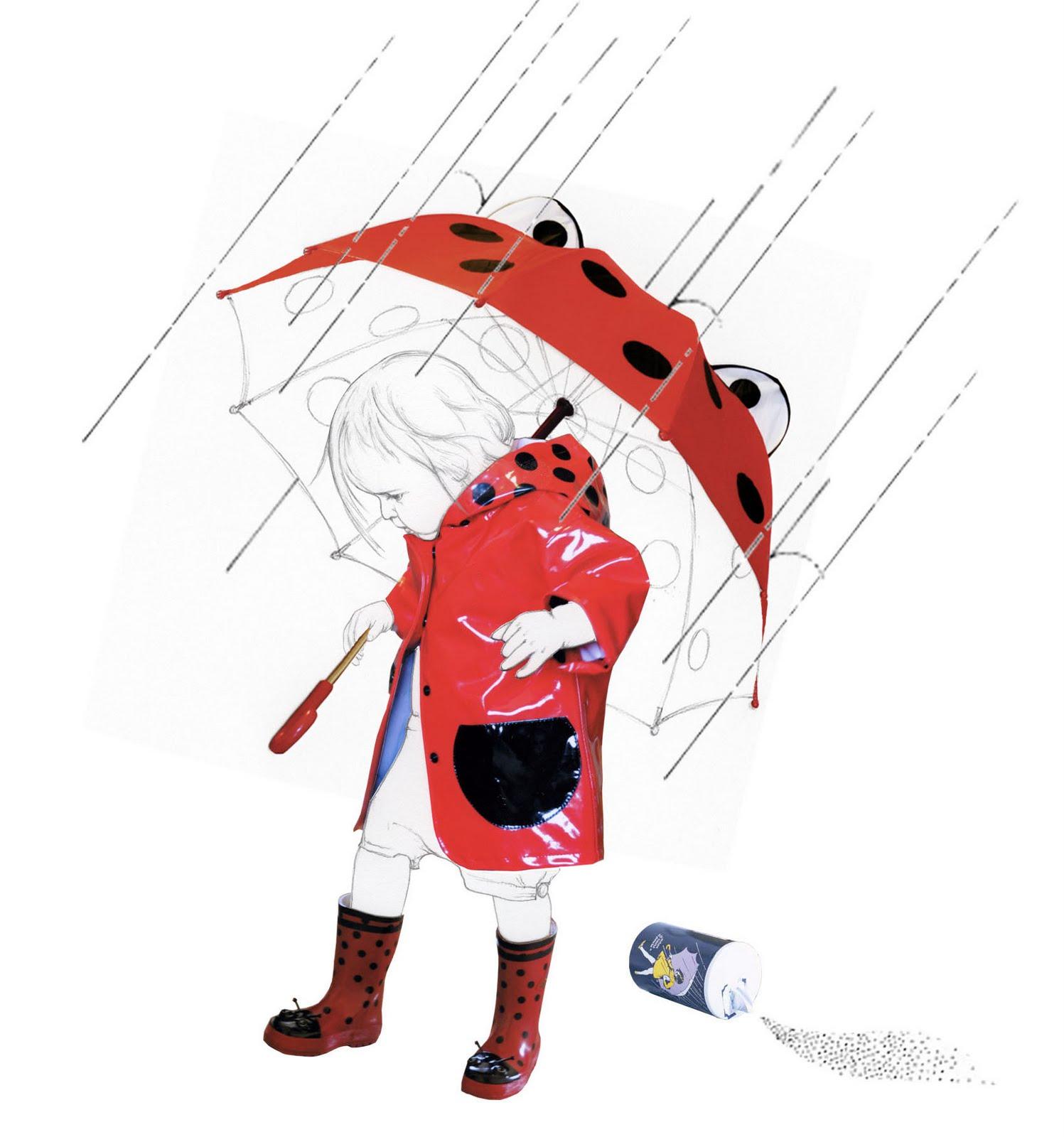 Tokidoki Hello Kitty Umbrella: Diaper Style Memoirs: Rained Out