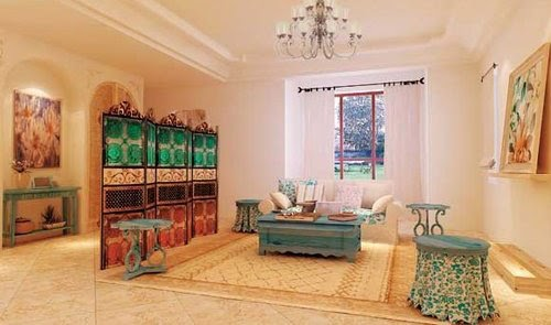 Home Interior Design: Mediterranean Style Home, A