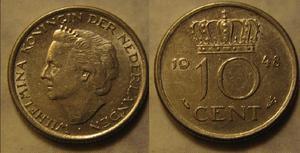 cent wilhelmina 1948