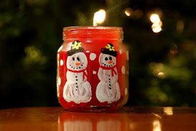 baby food jar candles