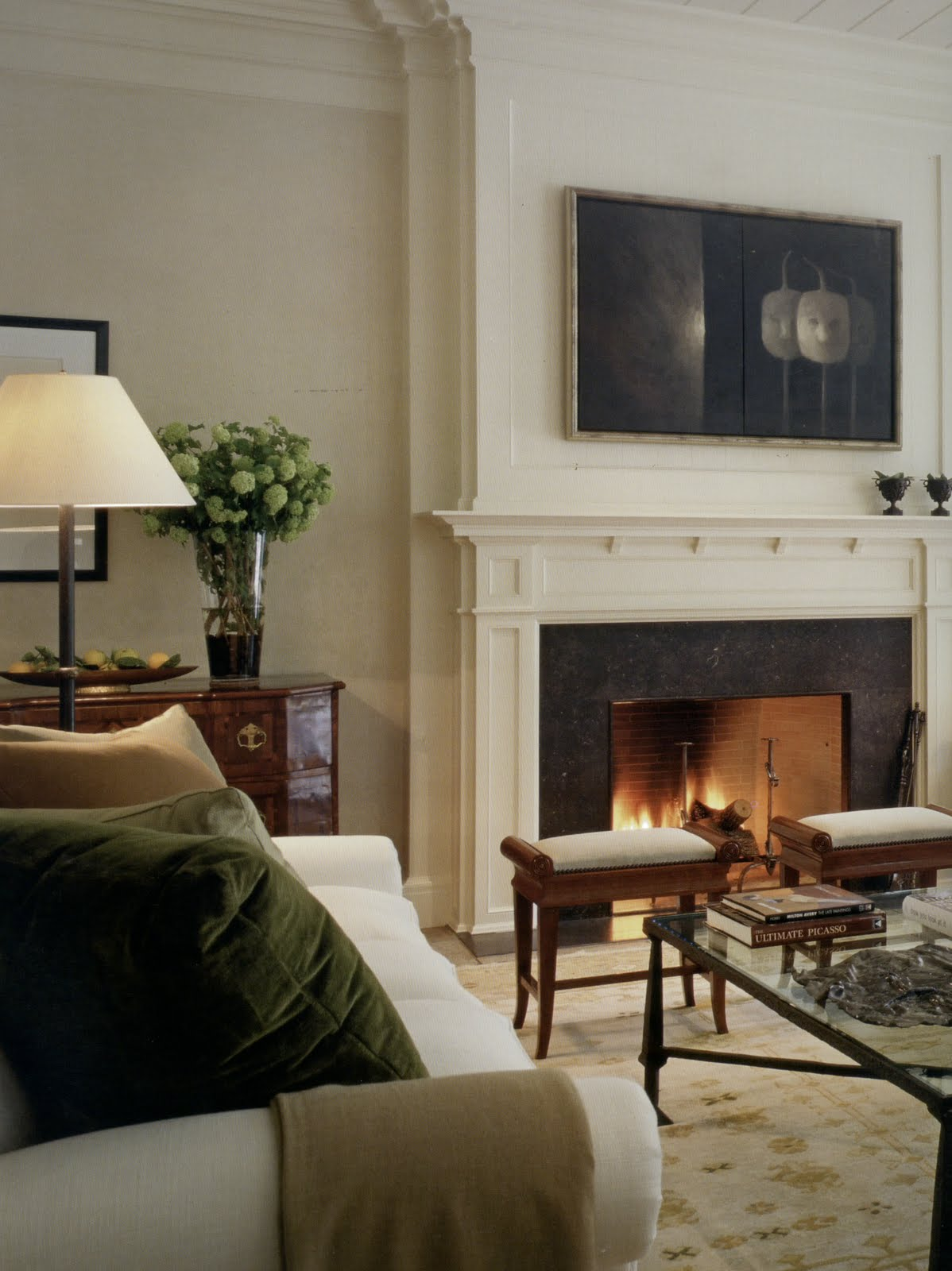 living room mantle aesthetically thinking fireside chats 11249
