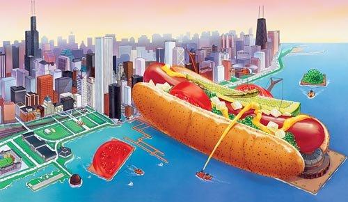 chicagos hot dog