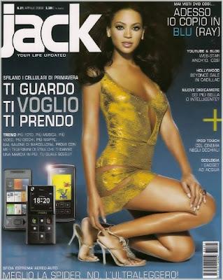Beyonce Covers Jack Magazine