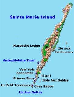 Isla De Sainte Marie En El Caribe