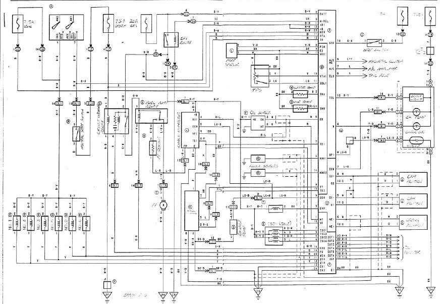 wiring diagram nissan cefiro a31