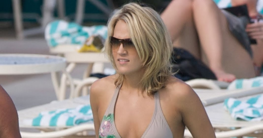 Carrie underwood float bikini