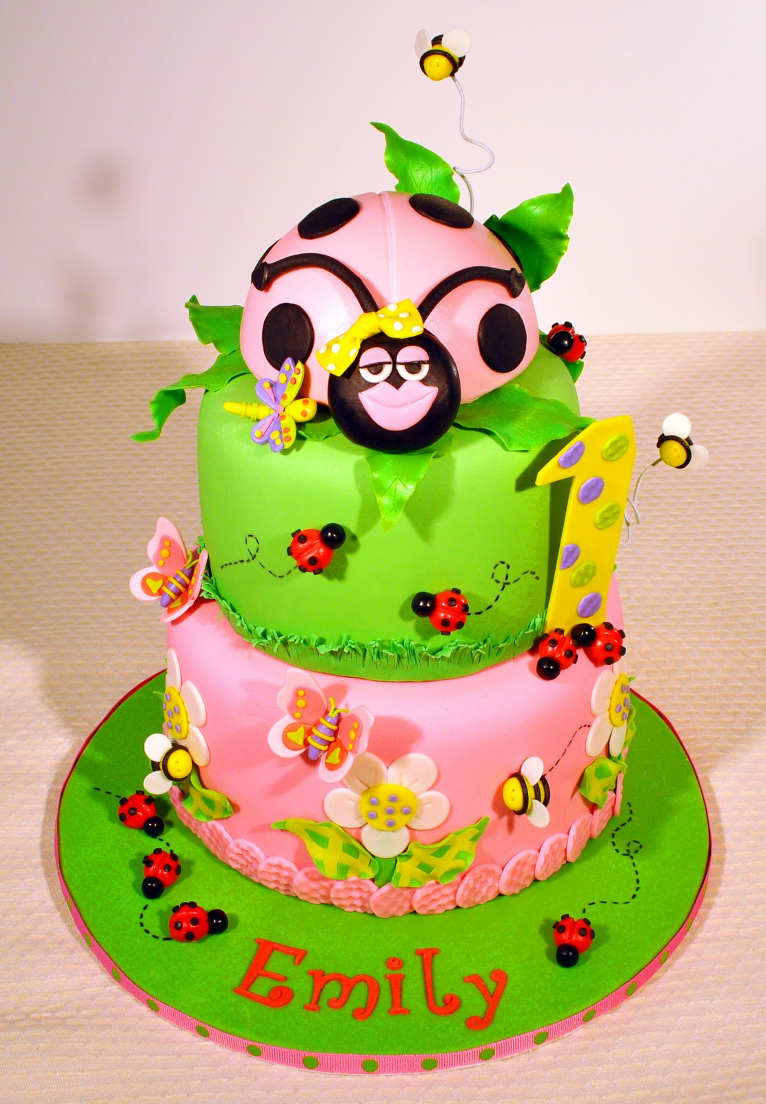 Judy S Cakes Ladybug Ladybug Fly Away Home