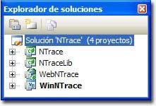 Solución NTrace en Visual Studio 2005
