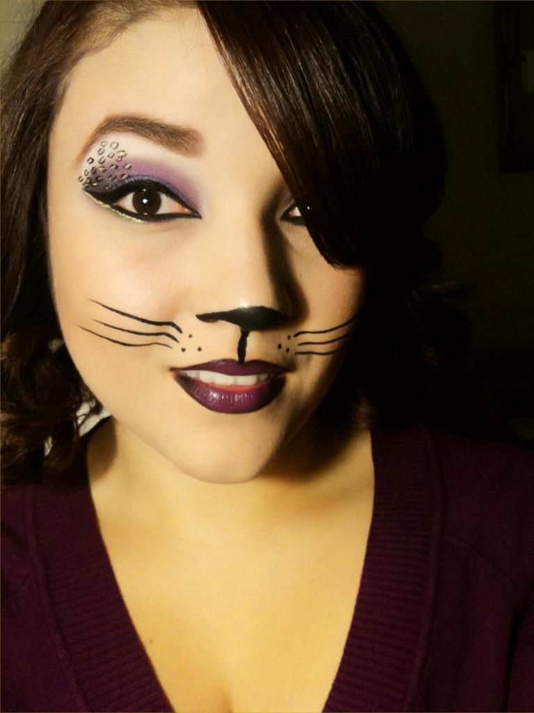 MissyDoll: Sexy Cat Halloween Makeup