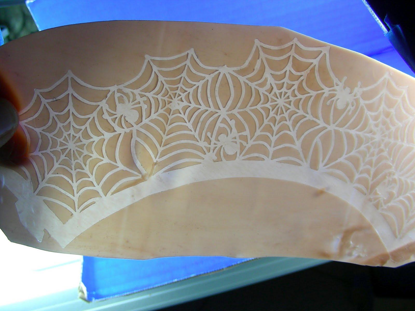 Marlene Brady: Texture Plate from Laser Cut Paper