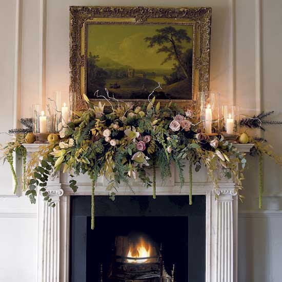 Mantle Decorations Christmas: Habitually Chic® » Merry Mantels