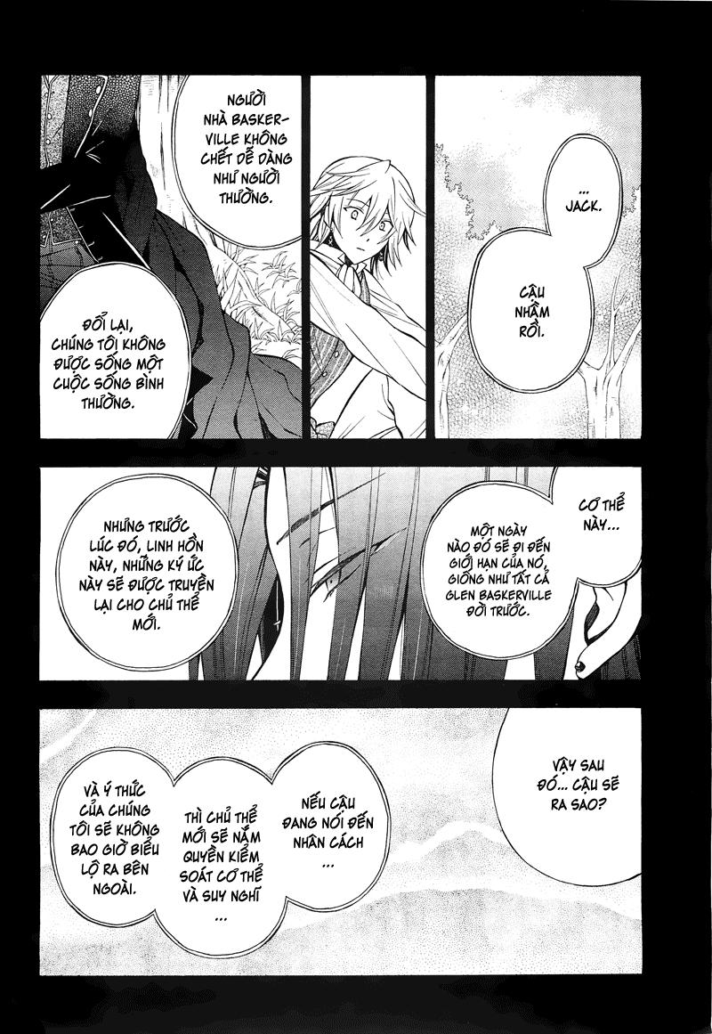 Pandora Hearts chương 057 - retrace: lvii humpty dumpty had a great fall trang 35