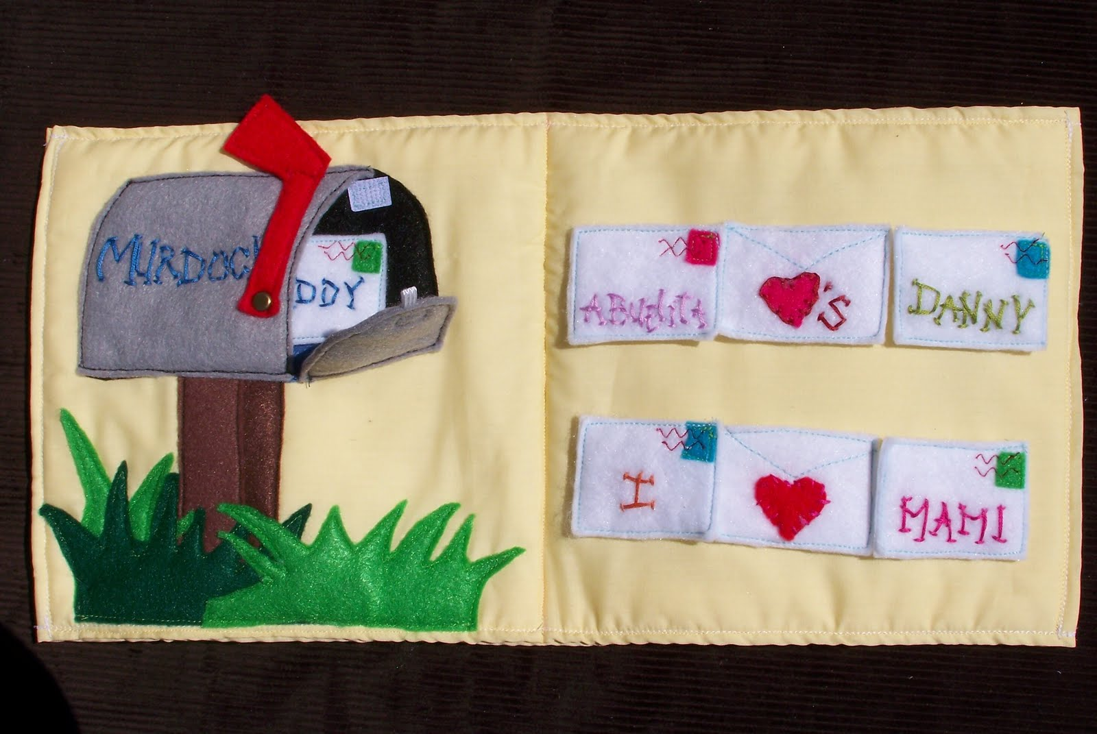 Made By Me Shared With You How To Make Quiet Book Page