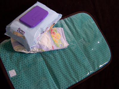 Made By Me Shared With You Wipeable Changing Pad For Baby