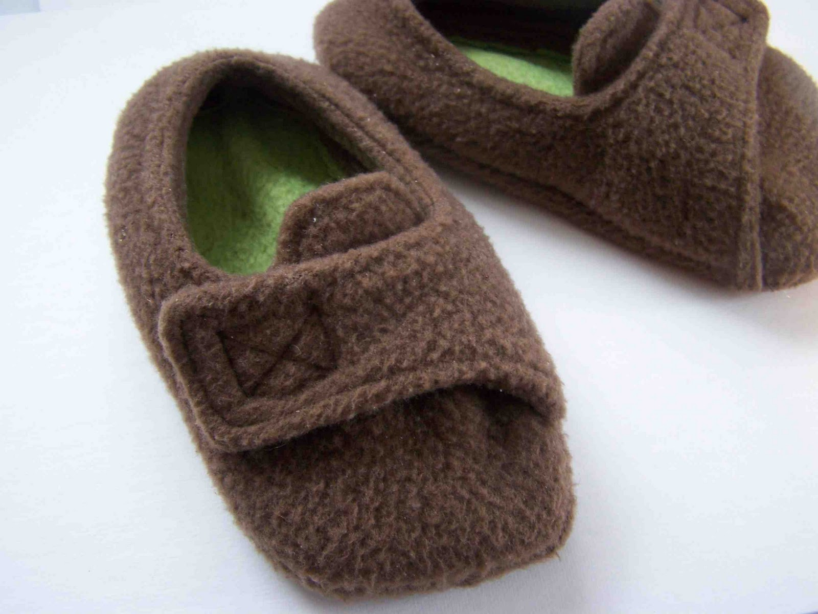 eb2f2d450 Made by Me. Shared with you.  Fleece Toddler Slippers