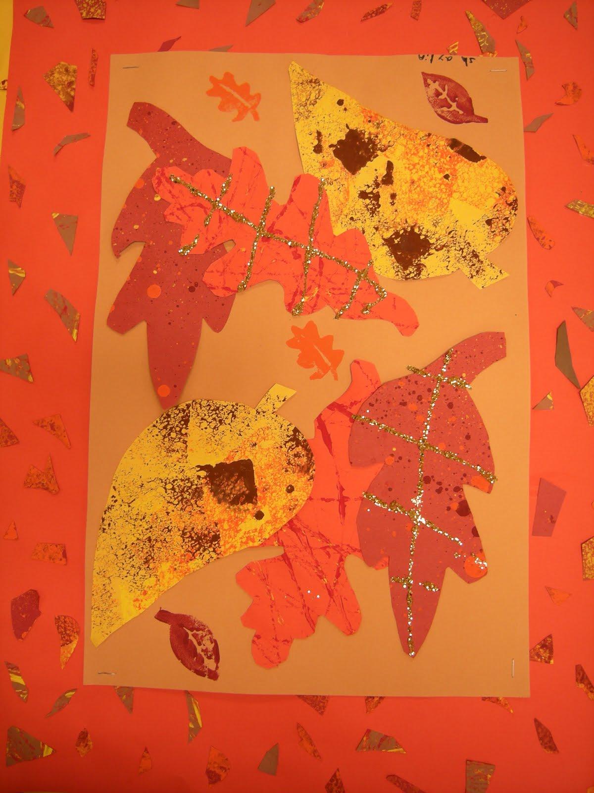 Artolazzi Fall Leaf Collage