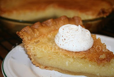 ... pie because it can be made from pantry basics chess pie is an old