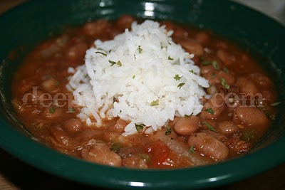 Ranch Beans, known also as Chuck Wagon and Cowboy Beans, are made with pintos and slow cooked with a slight southwestern flavor twist.